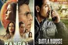 Box office: જાણો 'મિશન મંગલ' અને 'બાટલા હાઉસ'ની 3 દિવસની કમાણી