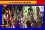 જૂનાગઢ: કાચ પર આસ્થાના ગરબા, કાચ પર ગરબા રમતી બાળાઓને નથી થતી ઇજા