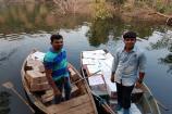 લ્યો બોલો છોટાઉદેપુરમાં બુટલેગરે નદીમાં છુપાવ્યો દારૂ !