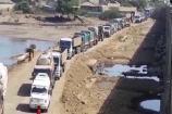 VIdeo: ભાવનગર -સોમનાથ  હાઈવે પર ડાયવર્જનના કારણે ટ્રાફિક જામ , વાહન વ્યહાર ખોરવાયો