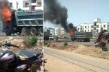 Video: ભરૂચમાં ટ્રકના કેબીનમાં અચાનક આગ લાગી, આગ લાગવાનું કારણ અકબંધ