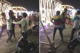 Video: રાજકોટમાં મેળામાં યુવક પર અસામાજિક તત્વોએ છરીથી કર્યો  હુમલો