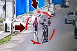 CCTV: મહિલાઓ તો છોડો હવે પુરુષો પણ થઇ રહ્યા છે ચેન સ્નેચિંગનો શિકાર