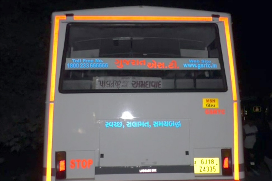 Mahesana ST Bus hijacked