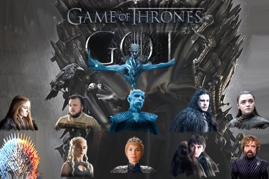 Game of Thronesની આઠમી અને અંતિમ સીઝન શરૂ થઇ ગઇ છે. ભારતીય સમયાનુસાર 6.30 વાગ્યે શરૂ આ એપિસોડને અત્યાર સુધીમાં દુનિયાનાં 2 કરોડથી વધુ લોકો જોઇ ચુક્યા છે. Game of Thrones એક કાલ્પનિક દુનિયાની કહાની છે જે પૃથ્વીનાં મહાદ્વીપ, વેસ્ટરોસ (પશ્ચિમી દેશનાં સમૂહ) અને એસોસ<br />(પૂર્વ દેશનાં સમૂહ)માં વેચાઇ ગઇ ચે. પૂર્વ દેશમાં મૂળ ગુલામ દેશો છે અને પશ્ચિમી દેશ એક રાજા દ્વારા 'કિંગ્સ લેન્ડિંગ'માં હાજર 'આયરન થ્રોન' (રાજગદ્દી)ની અંદર પોતાની સત્તા ચલાવે છે આ રાજગદ્દીને મેળવવા માટે અલગ અલગ શક્તિશાળી પરિવારોની વ ચ્ચે લડાઇ થતી રહે છે તે જ આ સિરિયલ છે. રાજગદ્દી અને સત્તા મેળવવા માટે યુદ્ધને વધુ રોચક બનાવે છે. જાદુગર, માયાવી, જીવ અને ડ્રેગનનું હોવું. આ ઉપરાંત વાઇટ વોકરનાં નામતી જાણીતા ઝોમ્બી પણ અહીં આપને જોવા મળશે. આ સત્તાની લડાઇમાં બરફની પેલેપારની વચ્ચે માનવતા અને બરફની દિવાર છે. આ કહાનીમાં કેટલાંક મુખ્ય કિરદાર છે જેનાં વિશે આપે જાણી લેવું જોઇએ. તો તમને સિરીઝ જોવાની મઝા આવશે.