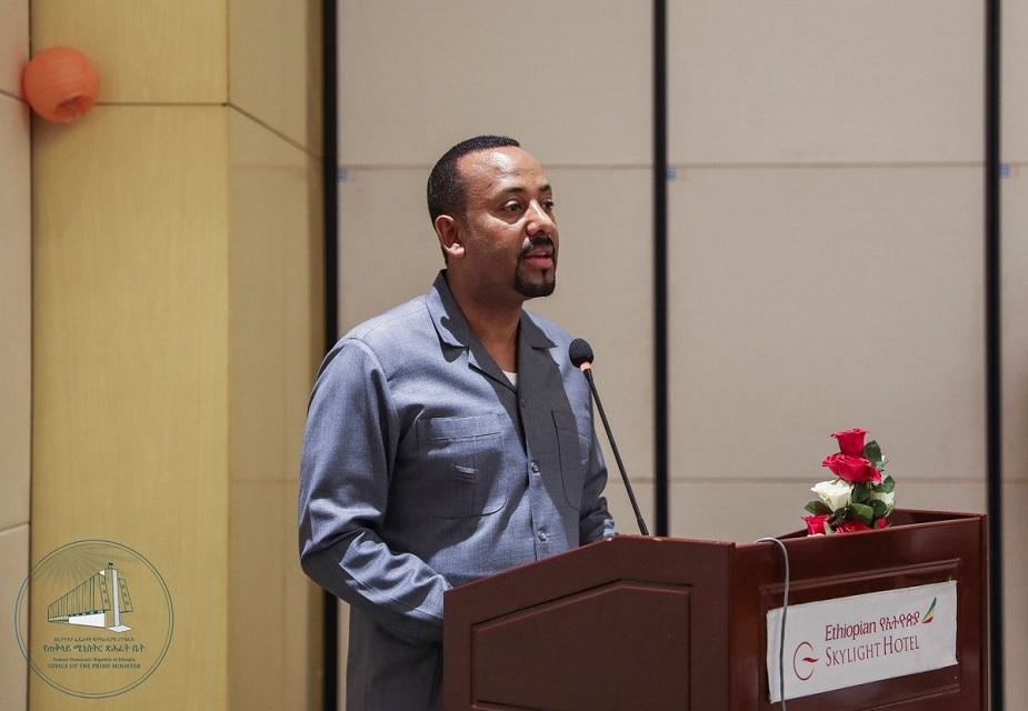 ગત વર્ષે એપ્રિલમાં પ્રધાનમંત્રી બન્યા બાદથી અબી અહમદને તેમના સુધારવાદી એજન્ડા માટે ઘણી લોકપ્રિયતા મળી રહી છે.(image credit: Twitter<strong>@</strong>PMEthiopia)