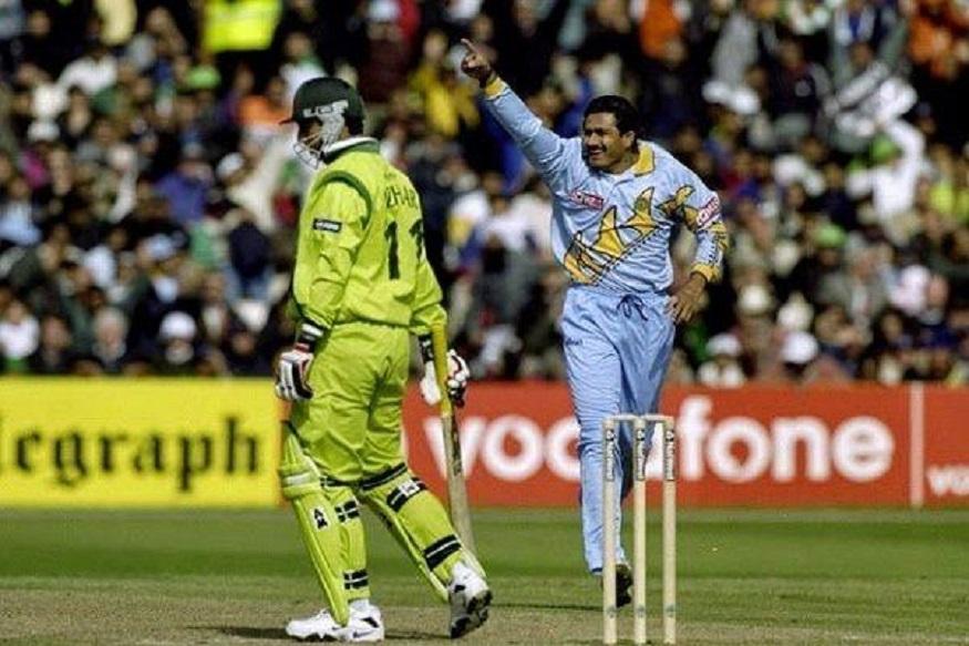 વર્લ્ડ કપ 1999, તારીખ : 8 જૂન, પરિણામ : ભારતનો પાકિસ્તાન સામે 47 રને વિજય, સ્થળ : માન્ચેસ્ટર