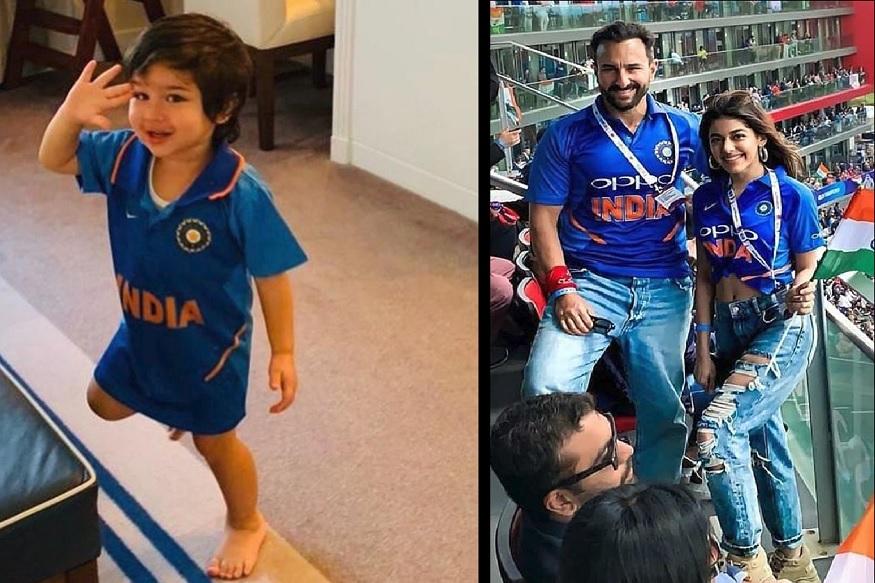 ICC ક્રિકેટ વર્લ્ડ કપમાં 16 જૂન 2019નાં ભારત-પાકિસ્તાન વચ્ચે મહામુકાબલો થયો. ભારત અને પાકિસ્તાનની મેચનો પારો નાનકડાં તૈમુર પર પણ ચઢ્યો હતો.