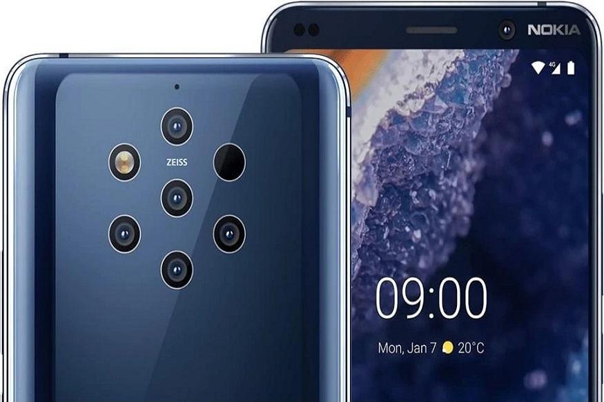 એચએમડી ગ્લોબલે છેલ્લે ભારતમાં તેનો નવો ફ્લેગશિપ સ્માર્ટફોન નોકિયા 9 પ્યુરવ્યુ (Nokia 9 PureView) રજૂ કર્યો છે. નોકિયા 9 PureView સૌ પ્રથમ ફેબ્રુઆરીમાં મોબાઇલ વર્લ્ડ કોંગ્રેસમાં રજૂ કરાયો હતો. આ ફોનની સૌથી વધુ ચર્ચા કરવામાં આવે છે કારણકે તેમાં પાછળ 5 કેમેરા આપવામાં આવ્યાં છે.