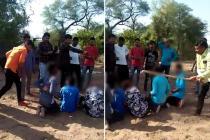 મહેસાણા: પાંચ યુવકોને લાકડી અને વાયરથી માર મારતો વીડિયો વાયરલ