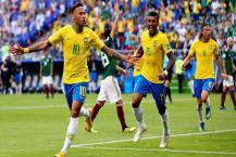 FIFA WC 2018: મેક્સિકોને 2-0થી હરાવીને ક્વોર્ટર ફાઈનમાં પહોંચ્યું બ્રાઝીલ