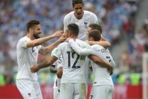 FIFA WC 2018 : ફ્રાન્સ સેમિફાઇનલમાં, ઉરુગ્વેને 2-0થી હરાવ્યું