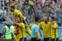 FIFA WC 2018: સ્વિટ્ઝર્લેન્ડને હરાવી સ્વિડન ક્વાર્ટર ફાઇનલમાં