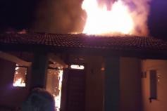 પંચમહાલઃ કાલોલના ચલાલીમાં 3 મકાનોમાં આગ, ઘરવખરી બળીને ખાખ