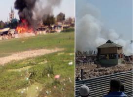 અમદાવાદની ઝૂંપડપટ્ટીમાં આગ લાગતા 20થી વધુ ઝૂંપડા બળીને ખાખ, ભયાવહ થયો માહોલ