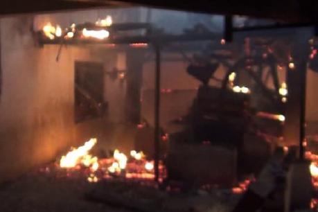 ઓલપાડઃદાળમિલમાં વહેલી સવારે ભીષણ આગ
